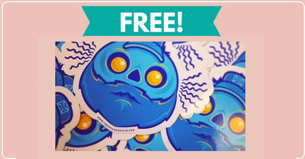 Free Stickers from The Toy Chronicle ! - Free Samples By