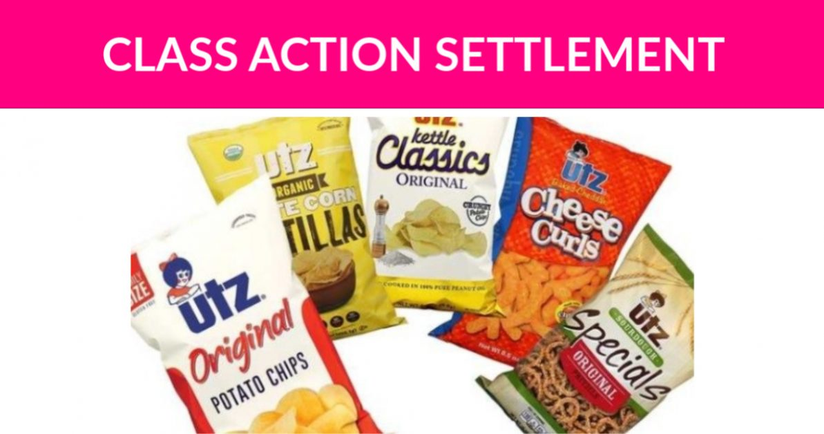 UTZ Snacks Class Action Settlement - Free Samples By Mail