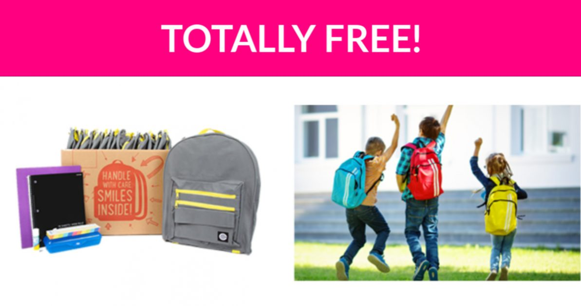 Free Backpack with School Supplies! - Free Samples By Mail | Free