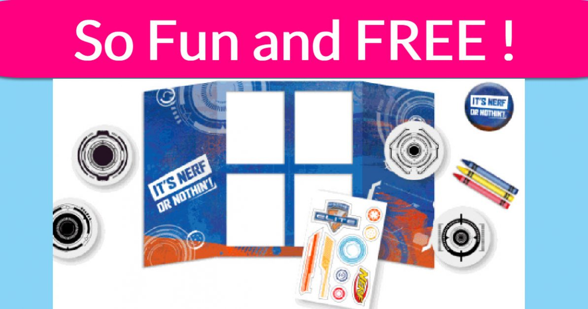 FREE Nerf Target Board! - Free Samples By Mail | Free Samples