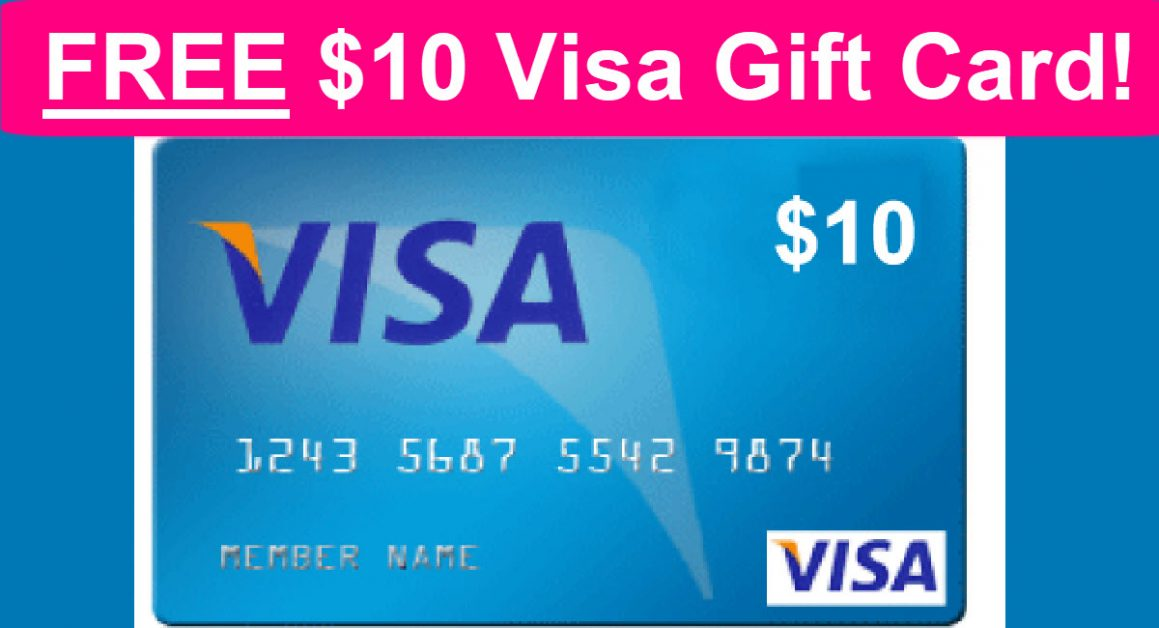 EASY - FREE $12 Visa Gift Card! - Free Samples By Mail