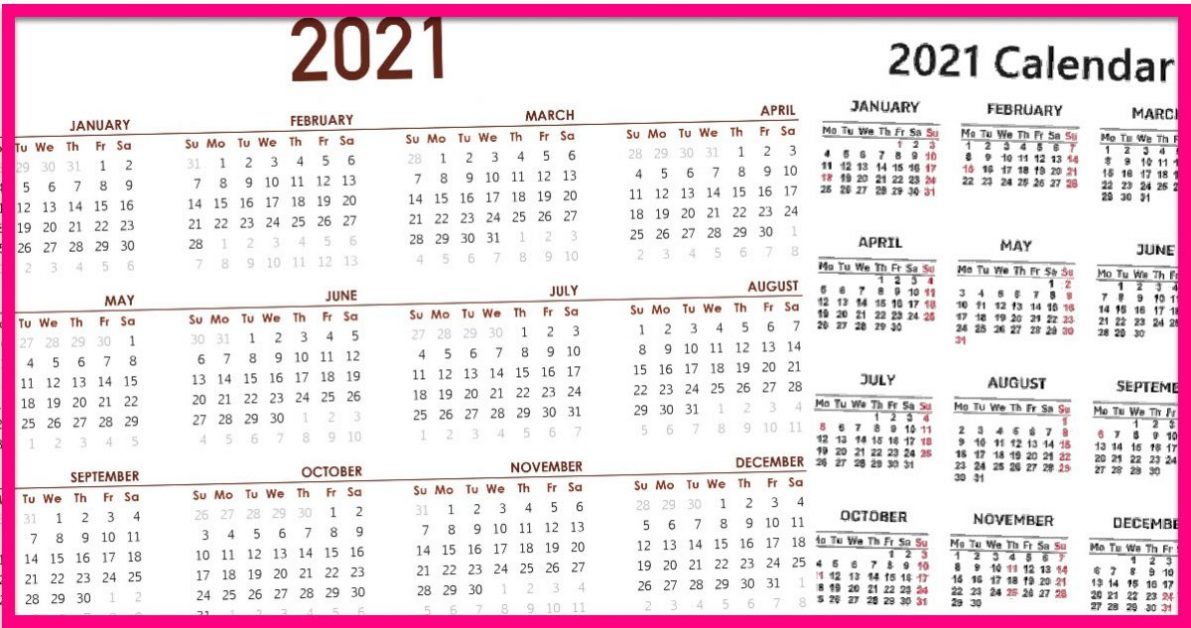Totally FREE 2021 GOLDSTEIN'S CALENDAR! - Free Samples By Mail