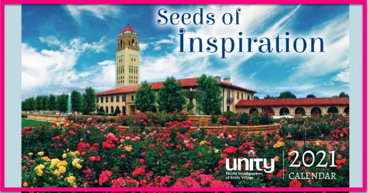 Totally FREE By Mail 2021 Calendar: Seeds of Inspiration!   Free