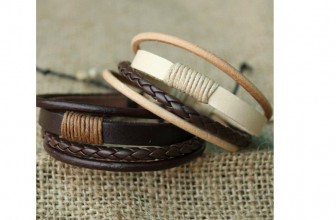 Leather Bracelets ONLY $0.61 Cents & Free SHIPPING!
