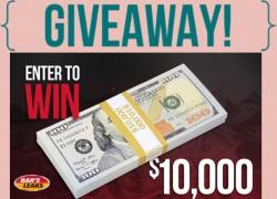 $$ WIN $10,000 CASH!! $$
