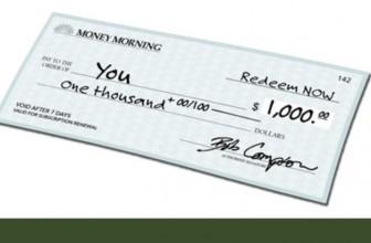Enter To Win a $1,000 Check !