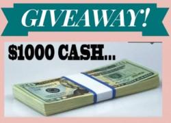$$ 5 Winners will win $1,000! $$ (Monthly Winner)
