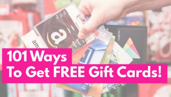 101 Easy Ways to Get Free Gift Cards .