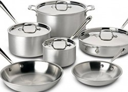 Enter To Win aStainless Steel 10-piece Cookware Set.