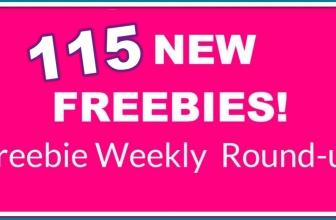 ⭐ WHOA ⭐ 115 NEW FREEBIES! This Weeks Freebie Round-Up List.