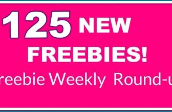 ⭐ NEW ! ⭐ 125 NEW FREEBIES! Freebie Round-Up.
