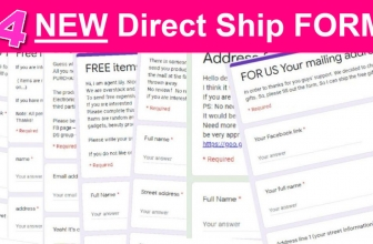 14 New Direct Ship Forms! OMG!