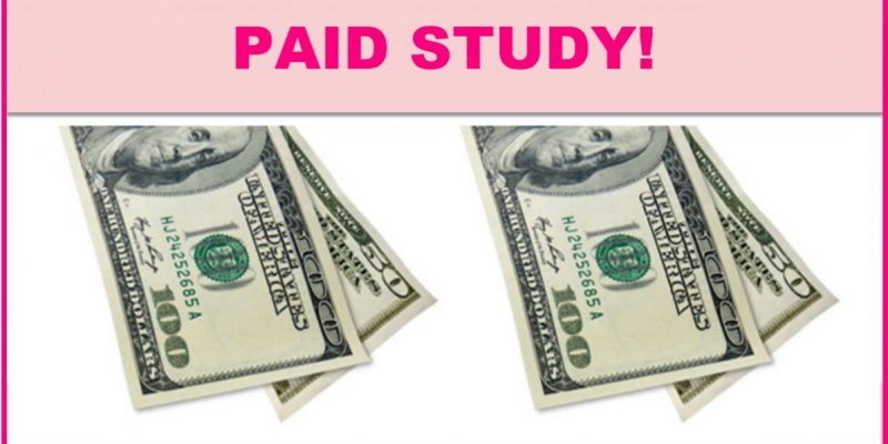 $150 Paid Research Study!