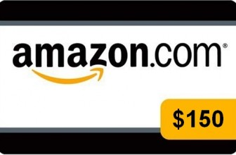Win a $150 or $50 Amazon Gift Card!