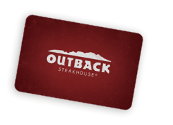 Need a Night off Cooking? Win $100 Outback Steakhouse Gift card.