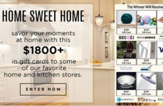 Win $1,800 in Gift Cards!!