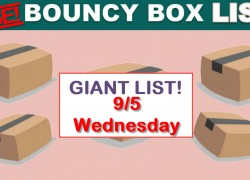 Best Bouncy Boxes Of The Day! [ BEST ODDS OF WINNING! ] = UPDATED 9/5