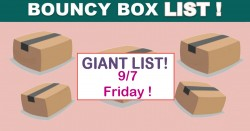 Best Bouncy Boxes Of The Day! [ BEST ODDS OF WINNING! ] = UPDATED 9/7