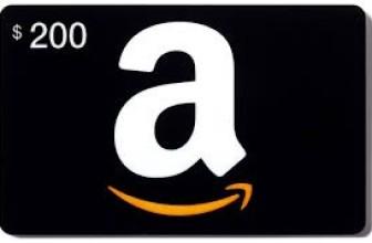 WIN A $200 AMAZON SHOPPING SPREE!