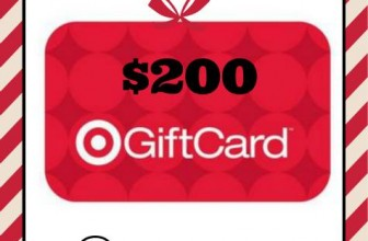Win a $200 Target Gift Card!