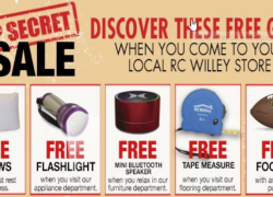FREE Pillows, Flashlight, Bluetooth Speaker, and Tape Measure