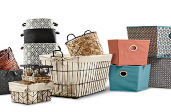 Time to Get Organized – Get Up to 50% Off Decorative Storage!!!