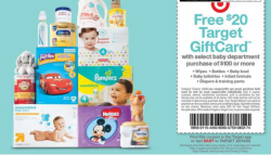 Free $20 Target Gift Card with $100 Baby Department Purchase