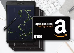 Win a Blackboard™ by Boogie Board™ and a $100 Amazon Gift Card!