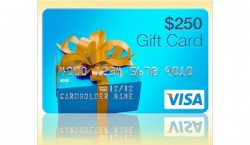 Enter to win a $250 Visa Giftcard