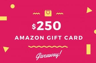 Win a $250 Amazon Gift Card!