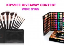 Win a Full Combo Make up Set and Brushes! $165 Value