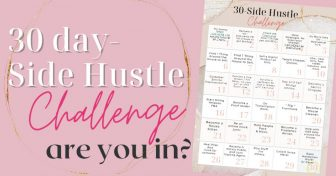 30 DAY Side Hustle Challenge! 30 Days Of SIDE Hustles.