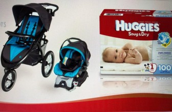 Win a Complete Stroller,  Car Seat & 6 months of Diapers!!