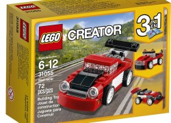 3 in 1 LEGO Creator Red Racer ONLY $3.99 ( Reg. $10.99 )
