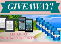 ENTER TO WIN $400 in prizes from Summer Romance Mega Giveaway!