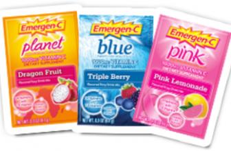 FREE Emergen-C Sample Packs