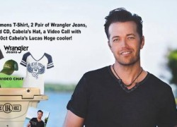 Win a HUGE Prize pack from Lucas Hoge including a Cooler and Clothes!