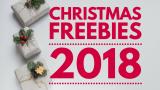 Christmas FREEBIES 2018 !