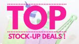 TOP Stock Up Deals!
