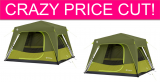 CLEARANCE! 4 Person Tent over 60% off and FREE Shipping!