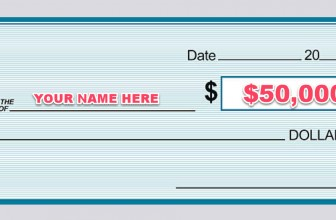 Grand Prize: $50,000 In The Form of A Check!