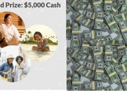 Grand Prize: $5,000 Cash Sweepstakes – Ends 1/23
