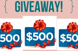 Enter to Win a $500 Gift card !