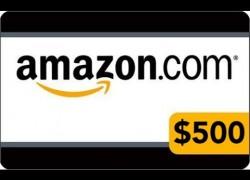 Win a $500 Amazon Gift Card! [3 Winners]