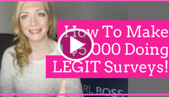 MAKE $5,000 in Survey's ! LEGIT – Step by Step Directions !