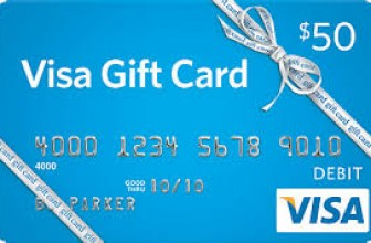 Win a $50 Visa Gift Card!