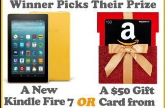 Win a $50 Amazon GC OR a Kindle Fire!