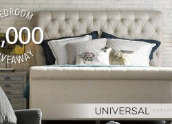 Win a $5000 Bedroom set!!