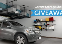 Organize your Garage! 5 Winners will win this complete System!