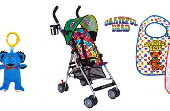 Win a Grateful Dead Baby product Gift set including a Stroller.